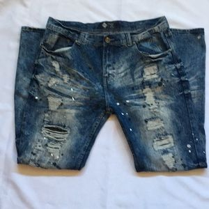 Distressed Jeans Size 38